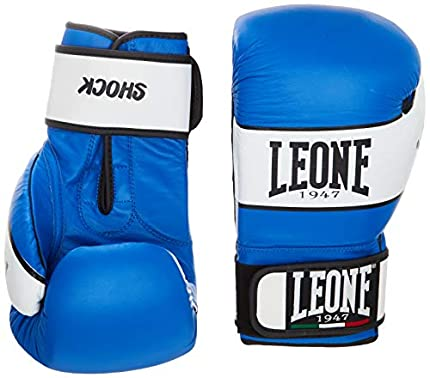 Leone 1947 Shock, Guantes de Boxeo, Unisex adulto, Azul