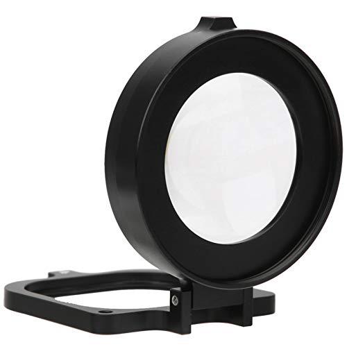 Cuifati Filtro de Lente Macro Filtros de cámara de acción Vidrio óptico de 58 mm + aleación de Aluminio para Disparos Macro