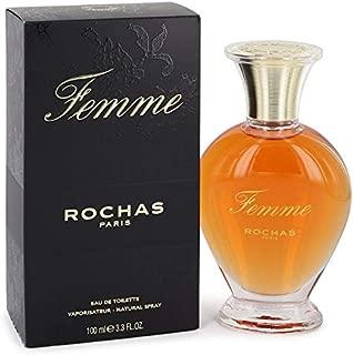 FEMME ⱤOƇHAS by ⱤOƇHAS for Women Eau De Toílette Spray 3.4 oz