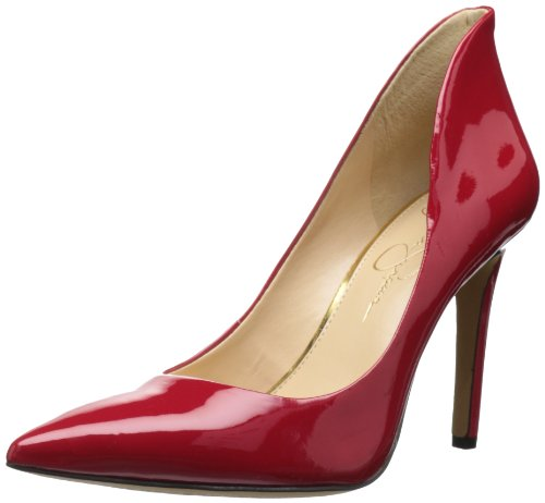 Jessica Simpson Women's Cambredge Dress Pump,Lipstick,8.5 M US