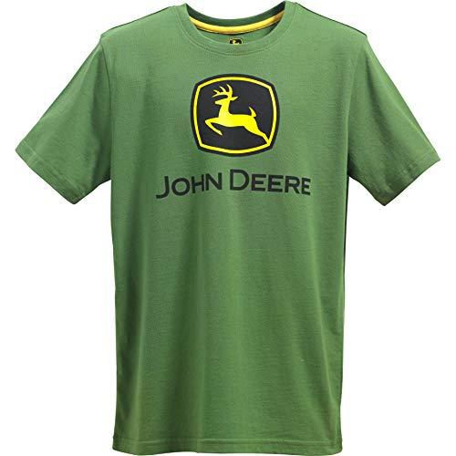 JOHN DEERE T-Shirt mit Logo für Jungen - Grn - Klein