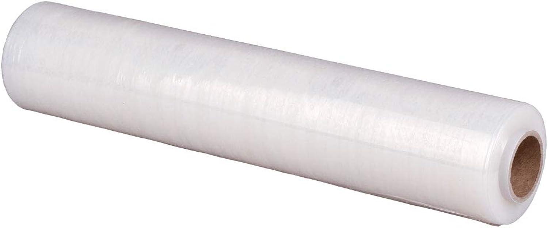 6x Handstretchfolie, Stretchfolie, transparent, 23 my, 50 cm breit, breit, breit, 300 m lang B06XKJ2MK2 | Attraktives Aussehen  e715a7