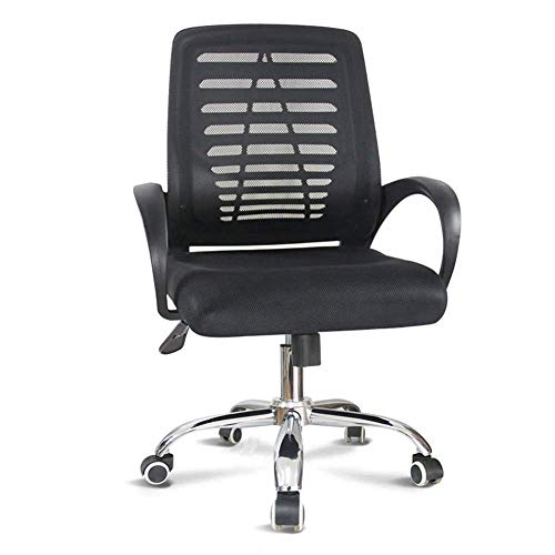 N/Z Home Equipment Work Chair Furniture High Back Designer Black Mesh Executive Swivel Chair with Adjustable Arms with Arms Swivel Rolling Work Chair