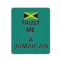 私を信じてジャマイカ Jamaican マウスパッド ゲーミングマウスパッド おしゃれ耐久性 滑り止め マウスパッド マウスパッド ゲーミング オフィス最適 30 * 25 * 0.3cm