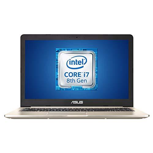 """ASUS Vivobook Pro N580GD-DM054T, Notebook con Monitor 15,6"""" FHD No Glare, Intel Core i7-8750H, RAM 16 GB DDR4, HDD da 1TB e 512GB SSD, Scheda Grafica Nvidia GTX1050 da 4GB DDR5, Windows 10"""