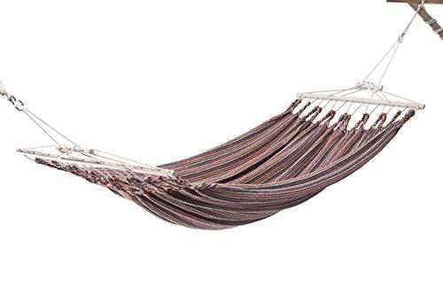 Chico-Doppelhängematte 350 x 190 cm - Baumwolle, extrabunt