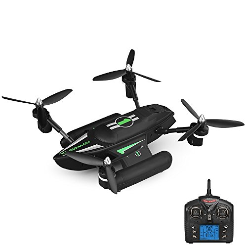 Goolsky Q353 Triphibian 2.4G 6-Axis Gyro Air-Ground-Water RC Quadcopter Headless Mode RTF Drone