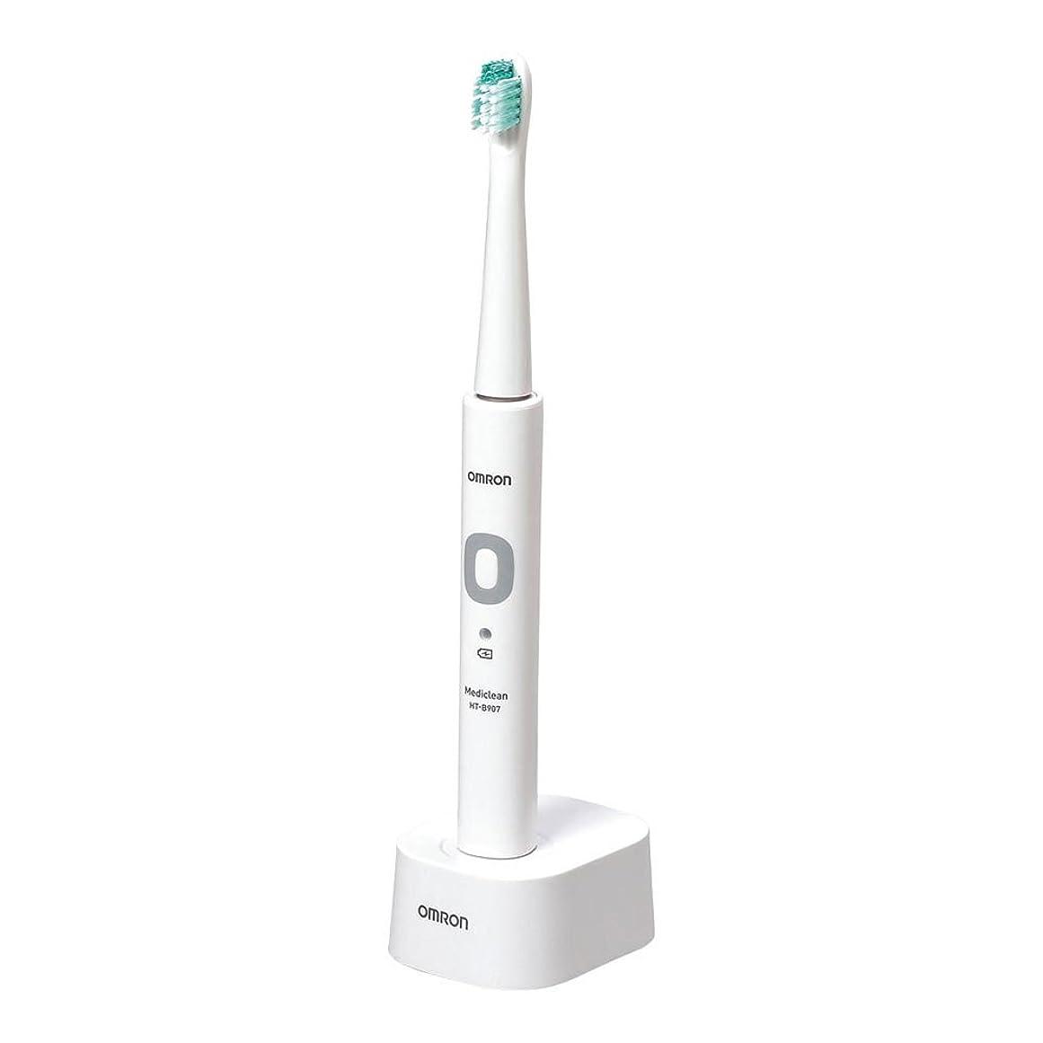 安全トイレプレミアオムロン 電動歯ブラシ 音波式 メディクリーン