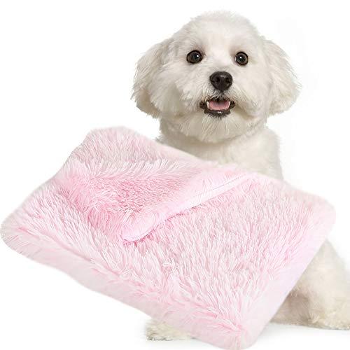 BVAGSS Alfombra Manta Suave y Linda Warm Manta Lavable para Gatos y Perros XH025 (S, Tie Dye Powder)