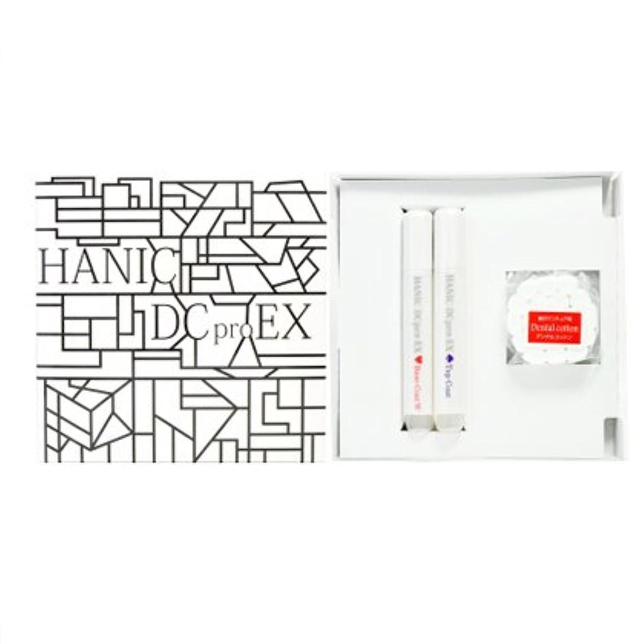 収束ヘア受信HANIC DCpro EX ベーシックセット(ベースコートホワイト?トップコート)