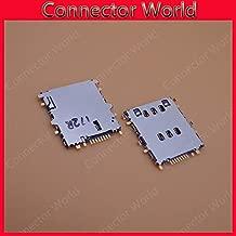 Gimax 2pcs/lot For samsung Galaxy T116 SM-T116 GT-P5200 Galaxy Tab 3 10.1 3G GT-P5210 WiFi Original SIM Card Reader Socket Slot