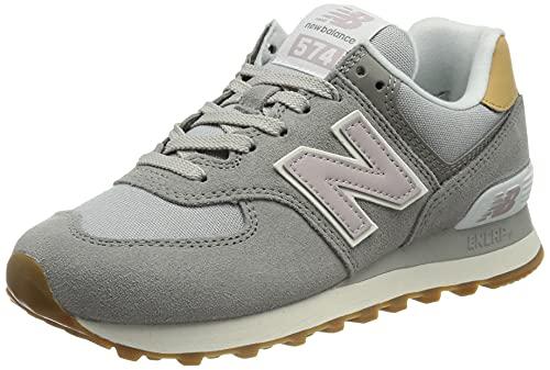 New Balance WL574NA2_37,5, Zapatillas Mujer, Grey, 37.5 EU