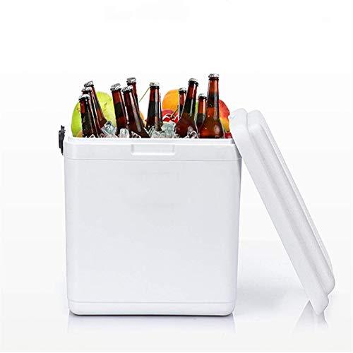 LICHAO Refrigerador portátil, contenedor de refrigerador portátil portátil para incubadora, refrigerador Aislado de 13L, 24L, 28L, Puede durar hasta 24 Horas, contenedor de refrigerador a Prueba