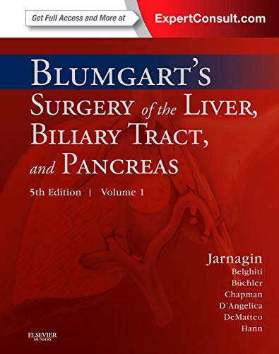 Blumgart's Surgery of the Liver, Biliary Tract and Pancreas: 2-Volume Set, Expert Consult - Online a - http://medicalbooks.filipinodoctors.org