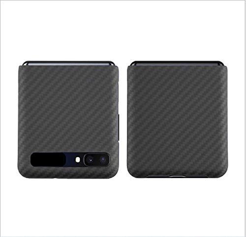 Hikaka per Samsung Galaxy Z Flip 5G, Custodia Ultra Sottile in Vera Fibra di Carbonio aramidica