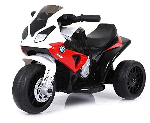 Moto Elettrica per Bambini 6V BMW S1000RR Rossa