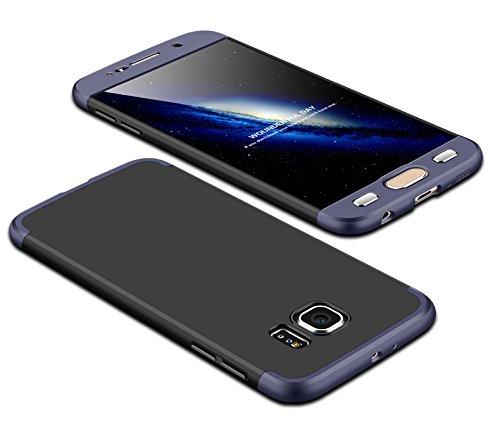 TiHen Funda para Samsung Galaxy S6 Funda, Case Bumper 3 en 1...
