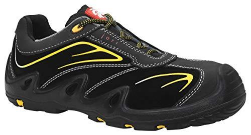 JORI veiligheidsschoenen HARRISON Low S3, dames en heren, sneakers, sportief, zwart, stalen neus - maat 43