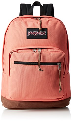 JanSport Right Pack Laptop Backpack - Faded Coral