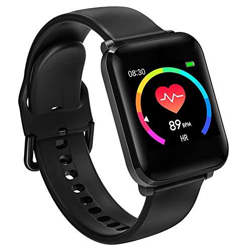 BINDEN BWatch Reloj Inteligente 42mm, Smartwatch con Pantalla HD, Modo Fitness, Deporte, Notificaciones, Ritmo Cardiaco, iOS/Android IP68 (Renewed)