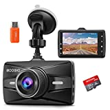 Best Car Dash Cams - Dash Cam Front with 32G SD Card, BOOGIIO Review