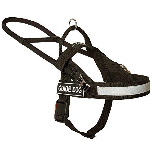 Guide, Assistance, mobilité pour chien en nylon Harnais léger réglable – Taille S