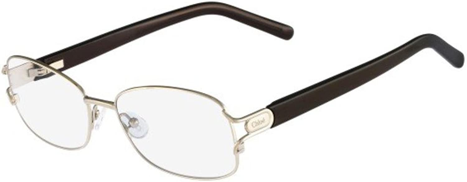 CHLOE Eyeglasses CE2117 713 Light gold Brown 54MM