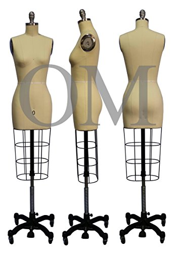 Female Professional Fashion Dressmaker Dress Form Mannequin Size 0 (Professional Series)