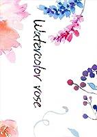 igsticker ポスター ウォールステッカー シール式ステッカー 飾り 364×515㎜ B3 写真 フォト 壁 インテリア おしゃれ 剥がせる wall sticker poster 015912 花 水彩 植物