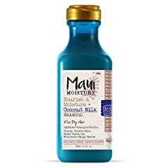 Curl-nourishing coconut milk hair shampoo MOISTURIZE and NOURISH LOCKS: This 13-fluid ounce bottle of Maui Moisture Nourish and Moisture + Coconut Milk Curl Shampoo helps hydrate and nourish curls for a healthy-looking glow and shine CURLY HAIR CARE:...