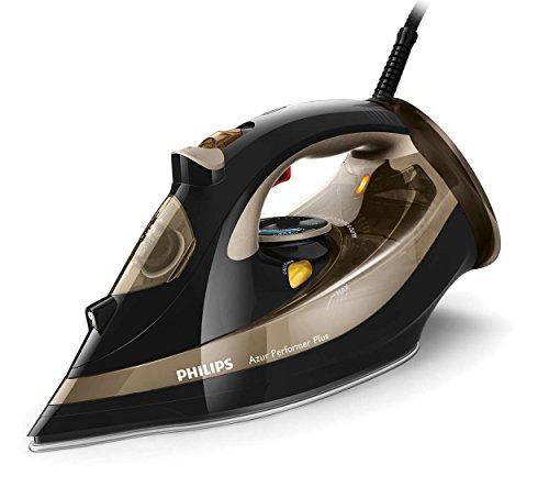 Philips–Dampfbügeleisen gc4527/00Azur Performer Plus | schwarz-Gold