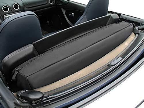 Mazda MX-5 Miata Deck Luggage Bag Silver Trim 1989-2005