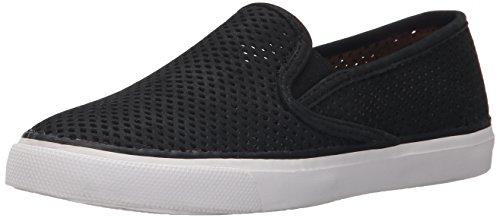 Sperry Top-Sider Seaside Baskets tendance pour femme, noir (noir), 35.5 EU