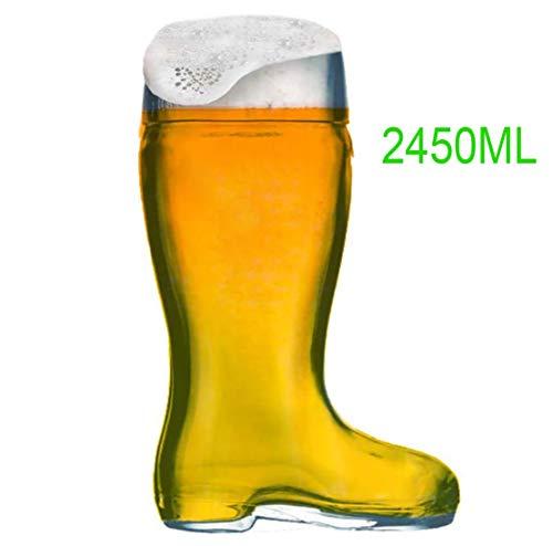 Bierstiefel, Design XXL Bierglas, Trinkstiefel, Stiefel, Bierglas, Bier-Boots, Herren, Männer, Für Ihn, Geschenkidee Für Bierliebhaber, Geburtstagsgeschenk, Oktoberfest
