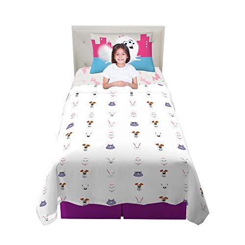 Franco Kids Bedding Super Soft Sheet Set, 3 Piece Twin Size, Secret Life of Pets 2