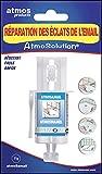Atmos Products 1207 Atmosamail Réparation, Blanc-Idéal pour réparer Les éclats d'émail, de faïence, de Porcelaine. Seringue à Base de résine époxy sans solvant