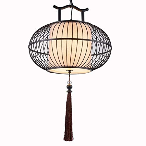 WYZXR Candelabro de estilo chino, personalidad creativa, restaurante, bar, estudio, comedor, candelabro retro (tamaño: 40 cm y 30 cm)