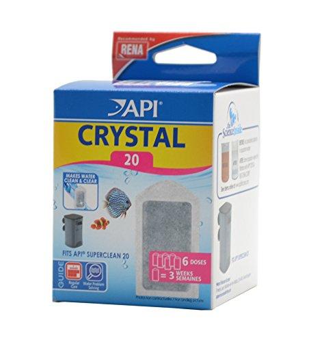 API Filtre Crystal 20 (x6) Rena - Pour aquarium