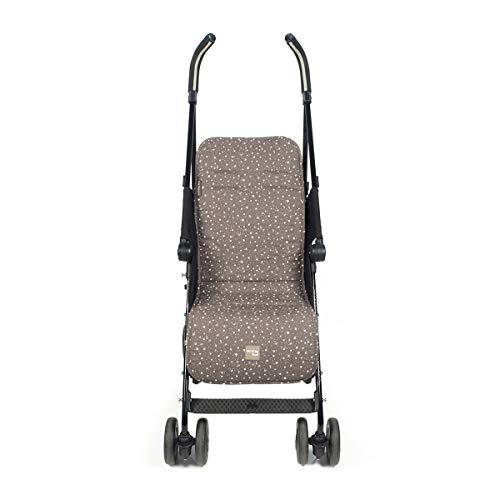 Walking Mum Positive - Colchoneta para silla, unisex, color marrón