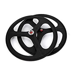 Hub: Flip-flop (Compatible with Both Fixed Gear & Freewheel) Tire Type: Clincher Brake Compatibility: Rim Brake Applicable Valve Type: Shrader Material: Magnesium-Titanium Alloy
