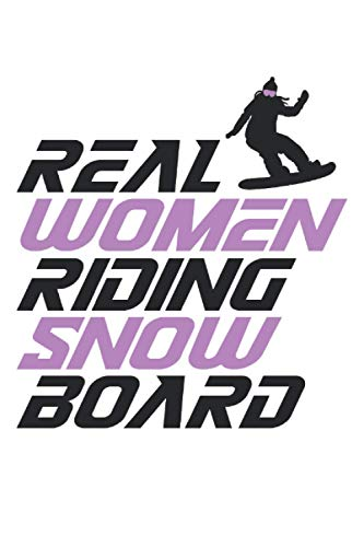 real women riding snowboard snowboard notebook  : sketchbook with 120 pages squared, Graph Paper Composition Notebook: Grid Paper, Quad Ruled, 120 pages Softcover (6x9 inch)