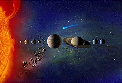 New Horizon Aviation, LLC Our Solar System Hi Gloss Space Poster Fine Art Print by New Horizon Aviation, LLC