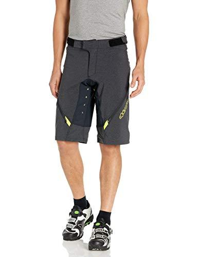Alpinestars Herren Bunny Hop Shorts Black Acid Yellow, Größe 38