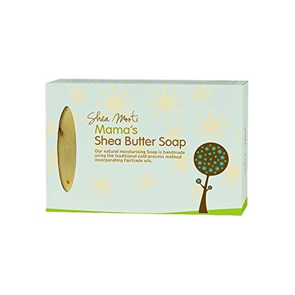 記録ブラシ倍増Shea Mooti Mama's Shea Butter Soap 100g (Pack of 6) - シアバターMootiママのシアバターソープ100グラム (x6) [並行輸入品]