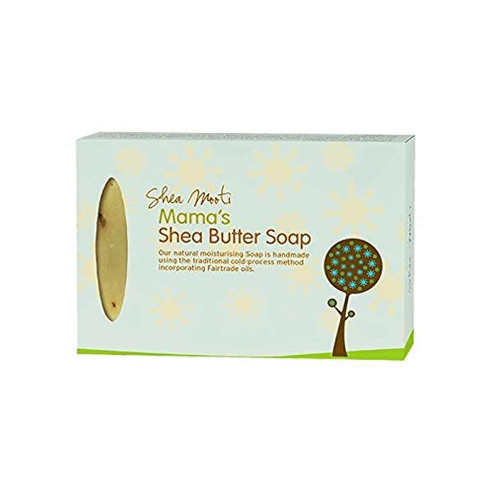 押す前任者パテShea Mooti Mama's Shea Butter Soap 100g (Pack of 6) - シアバターMootiママのシアバターソープ100グラム (x6) [並行輸入品]