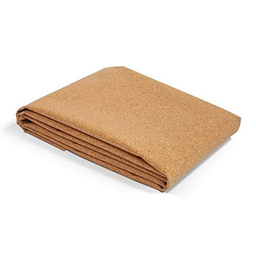 Secoroco Yogistar - Esterilla de yoga (corcho, plegable, incluye bolsa de yoga, vegana, libre de sustancias nocivas e hipoalergénica, grosor de 1 mm)
