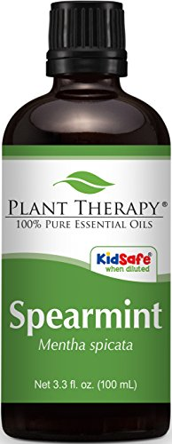 Plant Therapy Spearmint Essential Oil 100 mL (3.3 oz) 100% Pure, Undiluted, Therapeutic Grade