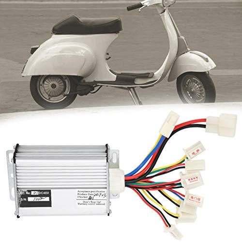 SALALIS Controlador de Cepillo de Bicicleta eléctrico Controlador de Bicicleta eléctrica Kit...