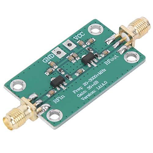 Les-Theresa Amplificador RF Módulo de radio de bajo ruido 35dB Ganancia 20-3000 MHz para Bluetooth/WiFi/GPS