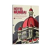 NCCDY Kunst-Film-Poster Hotel Mumbai, Leinwand, Wandkunst,